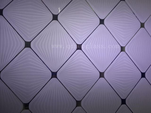 Acid Etched glass,Frosted Glass