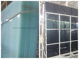 Tint Laminated Safety Glass-Grey & Milky White