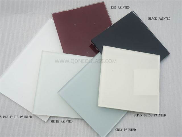 Back Painted Glass, Red Painted Glass, Ultra Clear Painted Glass, Whit Painted Glass, Low Iron Painted Glass