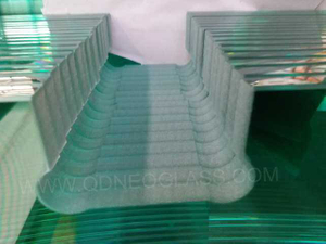 Tempered Bathroom Screen Glass-AS/NZS 2208: 1996, CE, ISO 9002