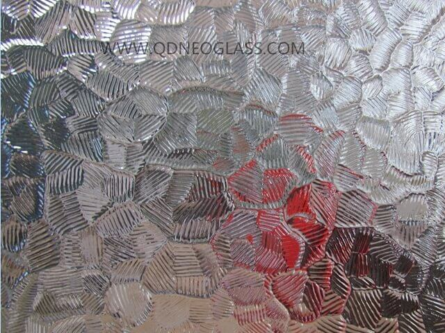 Desert Sand Patterned Glass