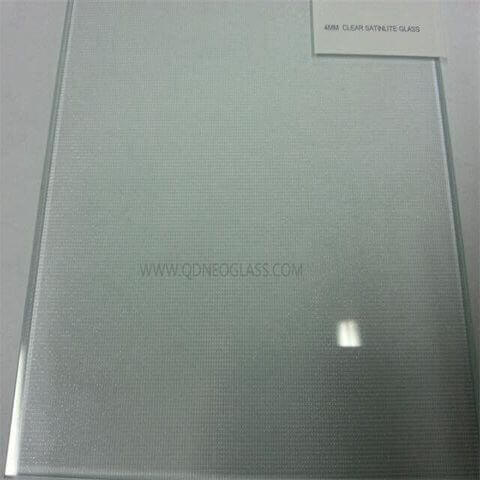 Satinlite Patterned Glass (Mistlite Patterned Glass, Satinlight Patterned Glass)