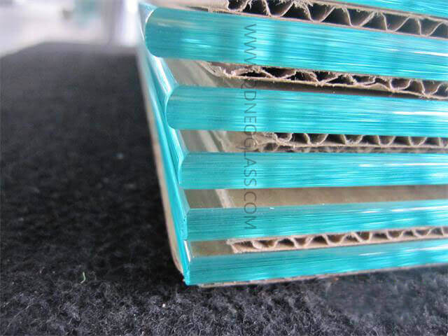 Tempered Pencil Edges Glass Shelf