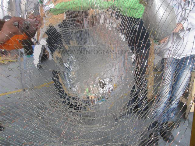 Laminated Mirror Glass