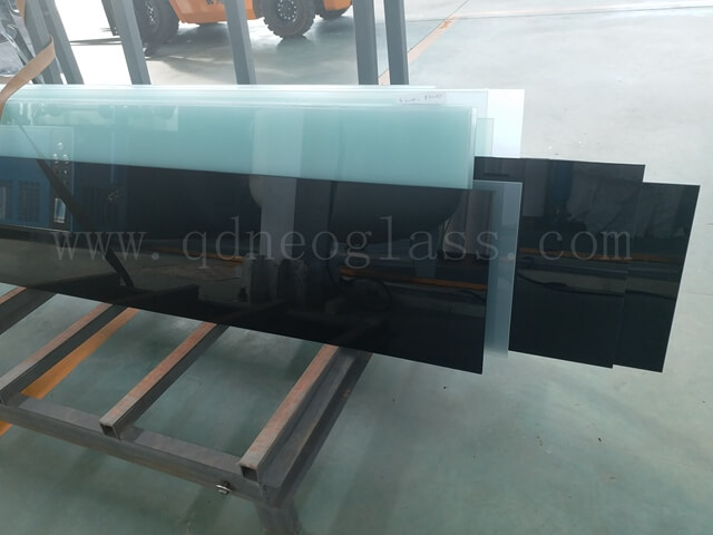 Cut to Size Black Laminated Glass, Cut To Size White Translucent Laminated Glass
