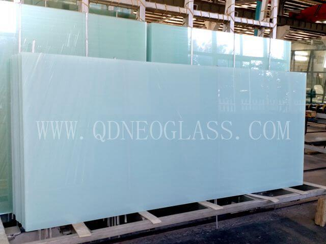 Opal White Laminated Glass